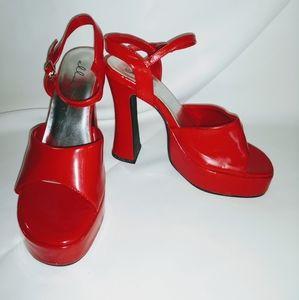 Bright Red Ellie Stiletto's